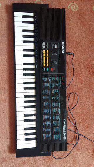 Teclado piano Casio Tone Bank 101