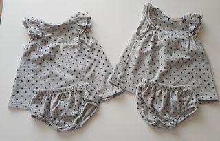 **QUEDA 1** 2 vestidos Zara 3-6 meses