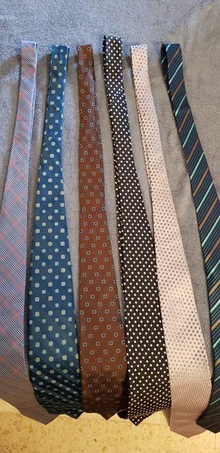 Lote corbatas marca