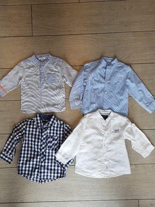 Camisas niño 12-18 meses.