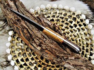 Cuchillo de cocina original Damasco con vaina