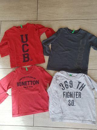Benetton, Camisetas niño 1-2 años