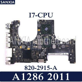 MacBook pro a1286 core I7 reparacion