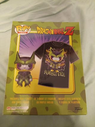 Funko pop Cell Metálico mas Camiseta