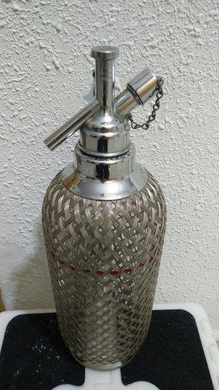 Botella sifón ingles