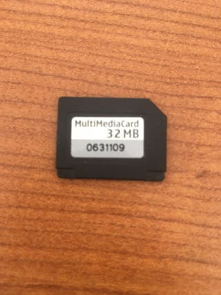 Tarjeta multimedia 32mb
