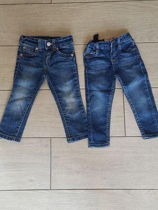 Pantalones niño 12 y 18 meses.