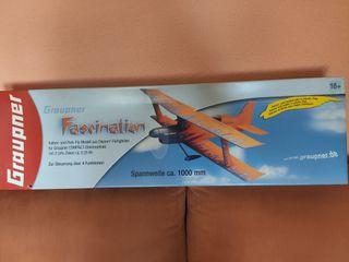 Avión radio control Graupner Fascination