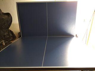 vendo mesa de pin pon marca indoor