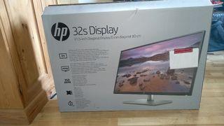 Monitor HP 32 S screen