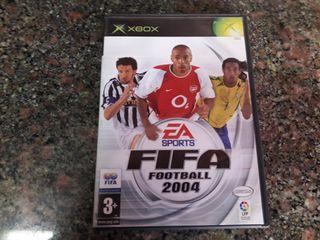 juego xbox clasica FIFA 2004