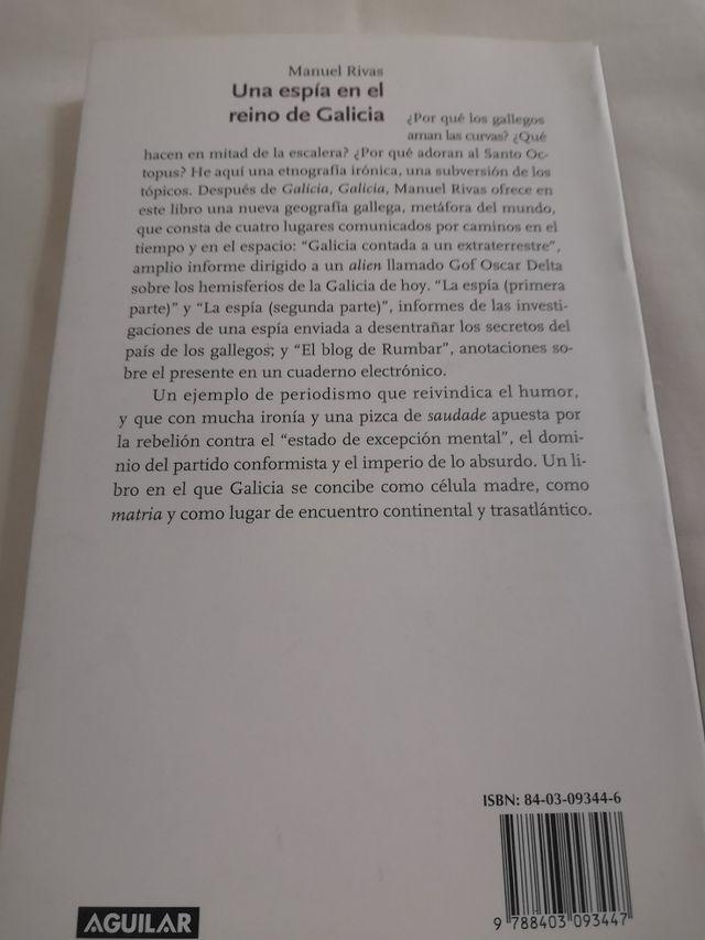 Manuel Rivas . Una espía en el reino de Galicia