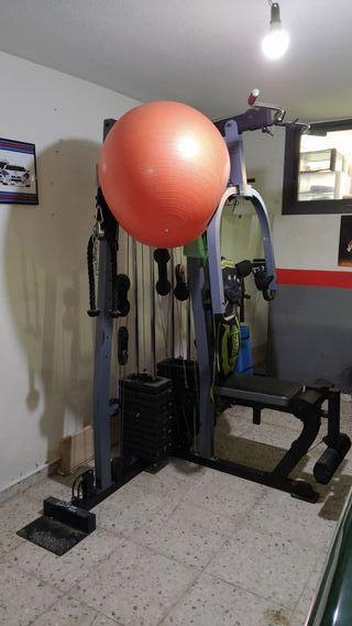 Máquina musculación/ gimnasio/ multipower