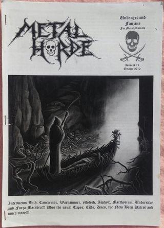 METAL HORDE Zine #11