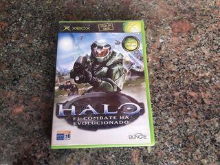 xbox clasica juego HALO