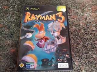 juego xbox clasica RAYMAN 3