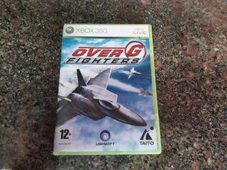 xbox 360 juego raro simulador OVER G FIGHTERS