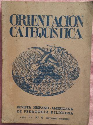 Orientación Catequística, Nº 4, Año 1955