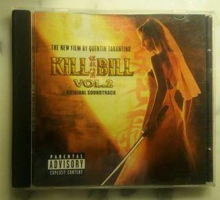 "Banda sonora pelicula ""Kill Bill 2"""