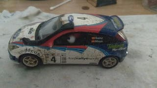 Scalextric Ford Focus WRC efecto barro