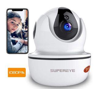 Cámara de vigilancia 1080p visión nocturna