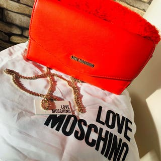 Moschino clutch bag