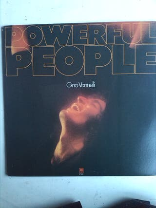 GINO VANNELLI - POWERFUL PEOPLE LP