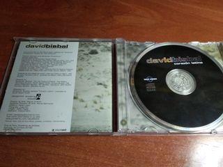 CD David Bisbal Corazón Latino Firmado