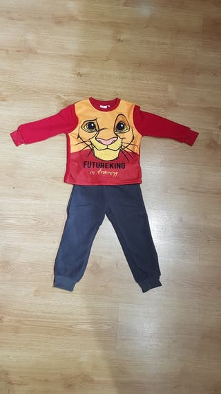 Pijama Rey León Disney niño Micropola