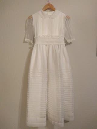 vestido comunión niña