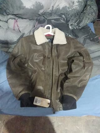 alpha industries piel y borrego