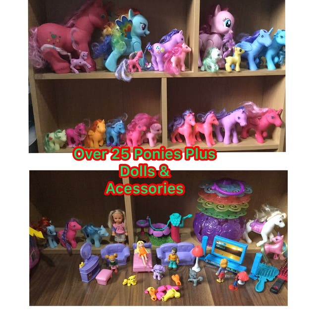 Pre loved Lovely Big Collection of Ponies