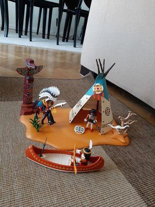 campamento Indio Playmobil 4012