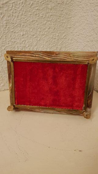 Caja / Joyero de marmol onice
