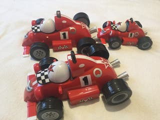 Set of 3 Talking Roary Racing Cars Fully Working