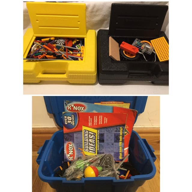 3 Boxes of K'Nex Collection
