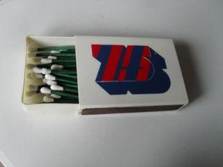 caja cerillas 75 aniversario BARÇA
