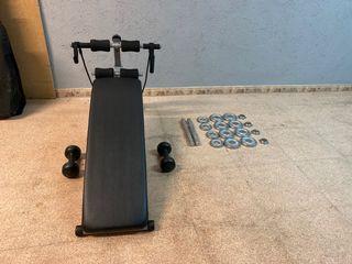 Para hacer ejercicios lote