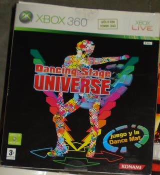 XBOX 360 Dancing Stage Universe + dance mat