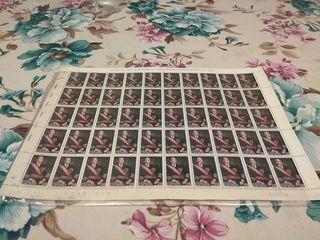 pliego sellos Juan de Borbón 28 Ptas