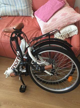 ¡Bicicleta plegable nueva! superoferta