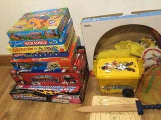 Bundle of toys games played & used