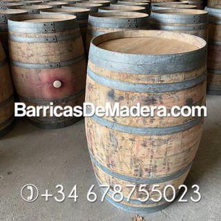 Barricas de roble 225 litros