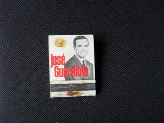 Cerillas. Cantante JOSE GUARDIOLA. años 70