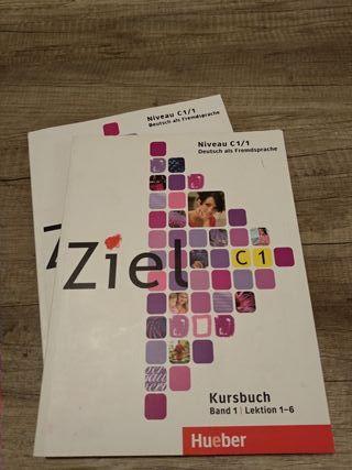 Ziel C1 Libro + libreta ejercicios (sin usar) + CD