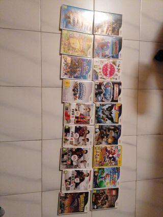 Pack 18 videojuegos wii