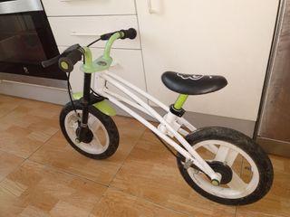 bicicleta aprendizaje sin pedales
