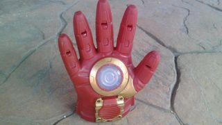 Juguete guante mano electrónico Iron Man