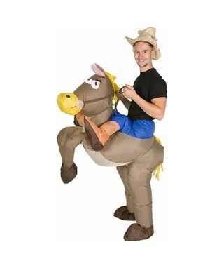 Disfraz hinchable de Cowboy