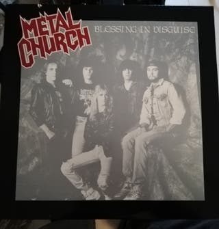 Disco vinilo Metal Church-Blessing in disguise.